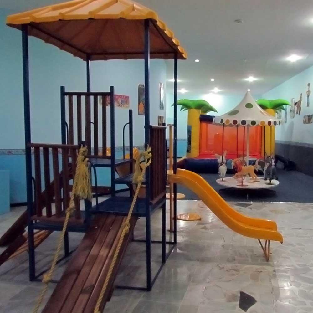 Área Infantil en Salón de Eventos en Puebla - Salón Arcadia de Grupo Santa Rosa