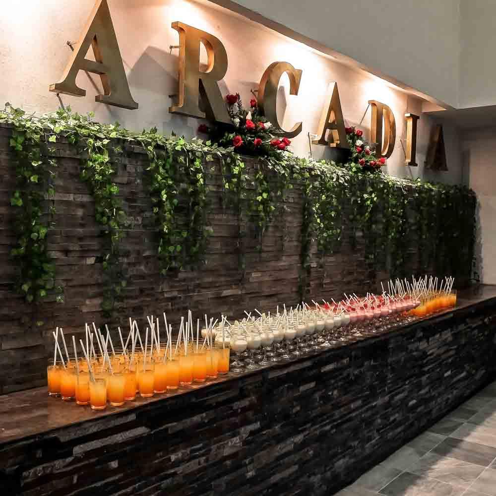Contelería en Salón de Eventos en Puebla - Salón Arcadia de Grupo Santa Rosa