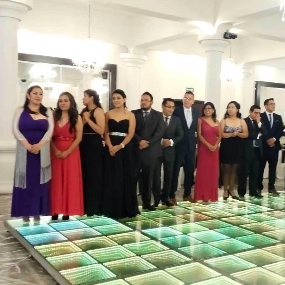 Pista Iluminada en Salón de Eventos en Puebla - Salón Ardizana de Grupo Santa Rosa