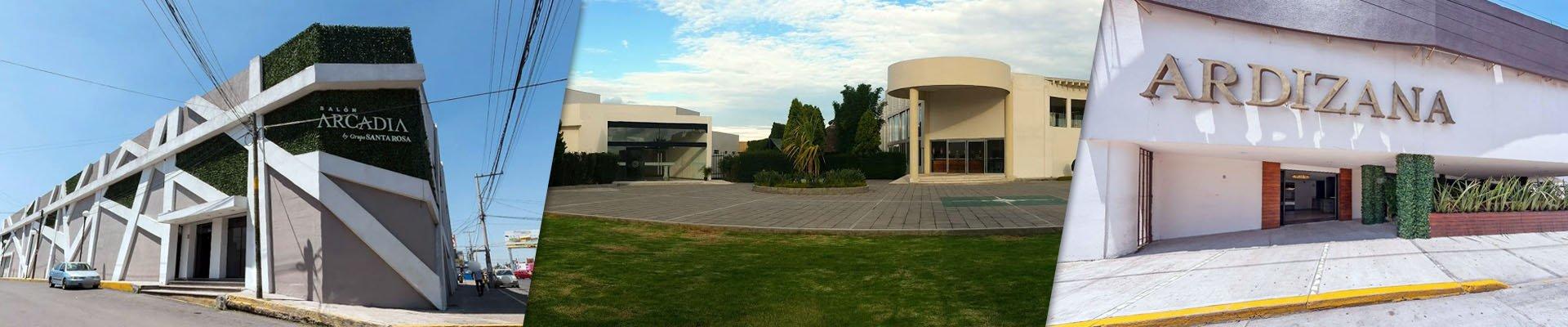 Salones de Eventos en Puebla de Grupo Santa Rosa