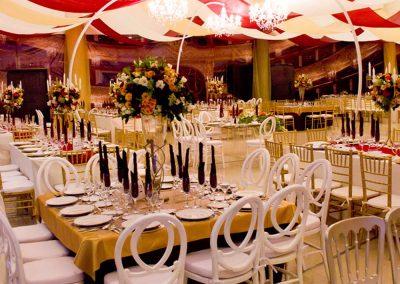 Decoración en Salón de Eventos en Cholula - Complejo Zerezotla de Grupo Santa Rosa