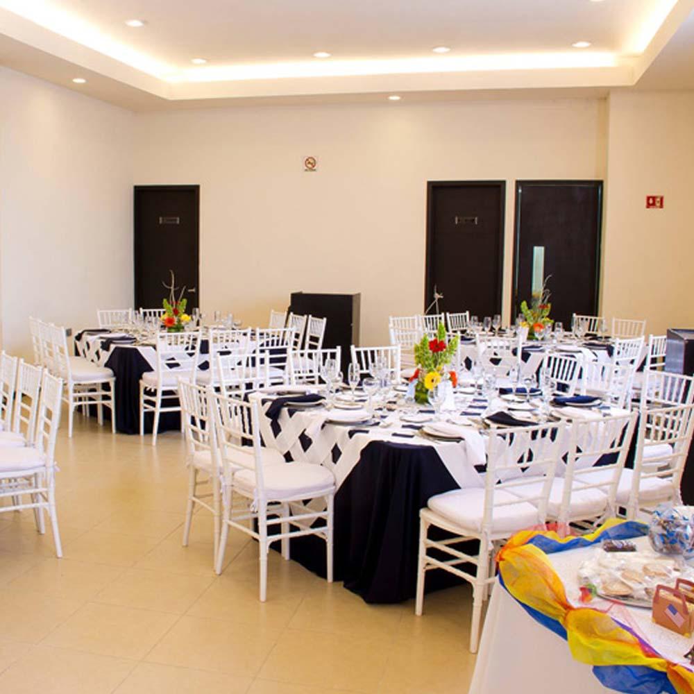 Decorado de Salón de Eventos en Cholula - Salón Magdalena de Grupo Santa Rosa