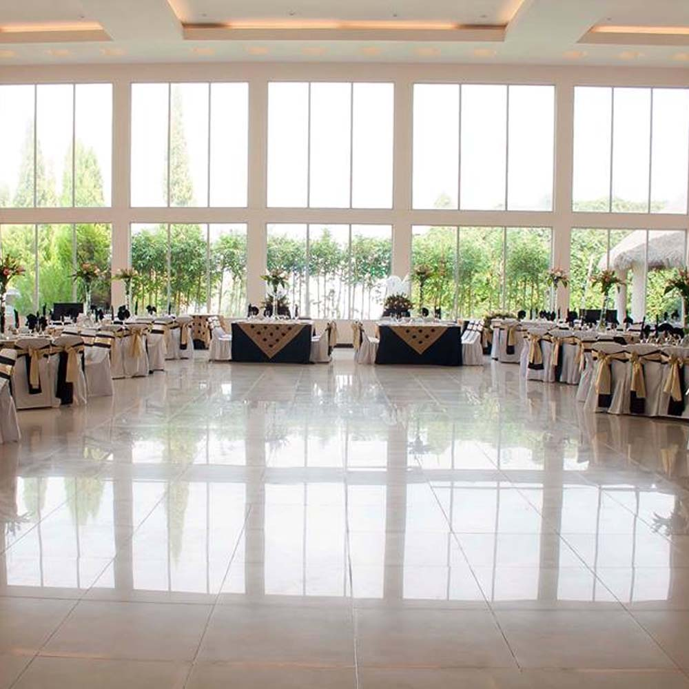 Decorado en Salón de Eventos en Cholula - Salón Zerezotla de Grupo Santa Rosa