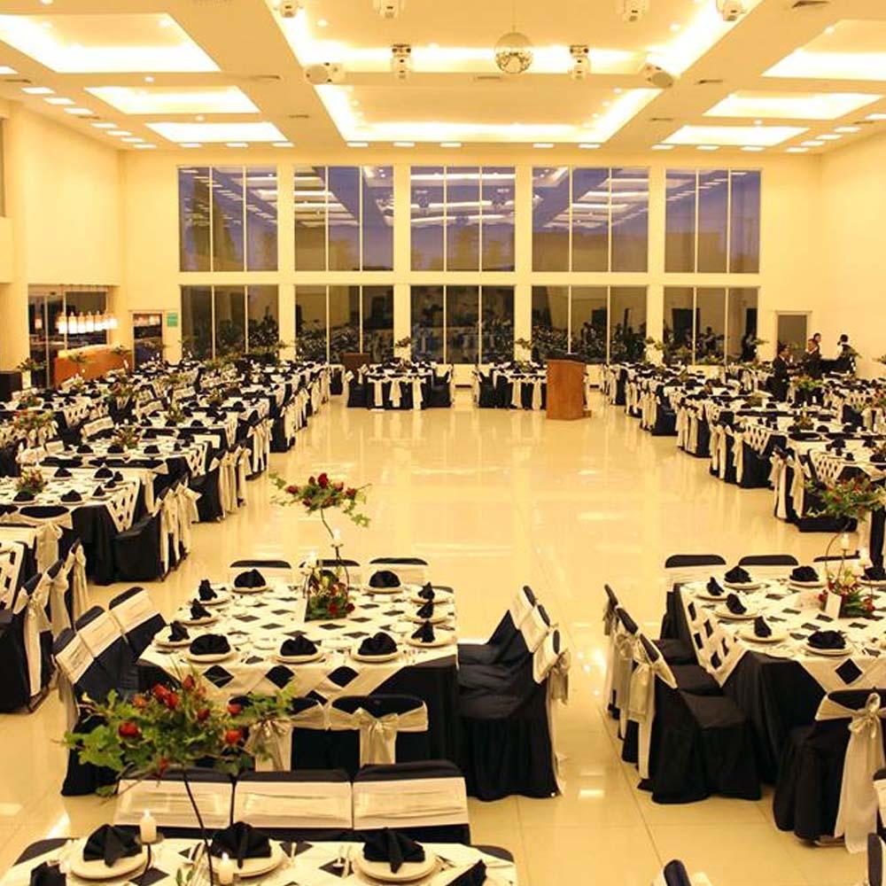 Decorado en Salón de Eventos en San Pedro Cholula - Salón Zerezotla de Grupo Santa Rosa