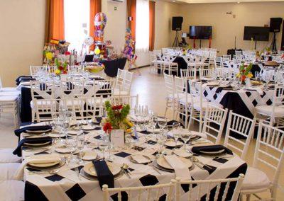 Mantelería en Salón de Eventos en Cholula - Complejo Zerezotla de Grupo Santa Rosa
