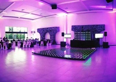 Pista Iluminada en Salón de Eventos en Cholula - Complejo Zerezotla de Grupo Santa Rosa