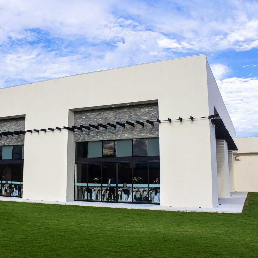 Salón Jardín en Cholula - Salón Los Cerezos de Grupo Santa Rosa