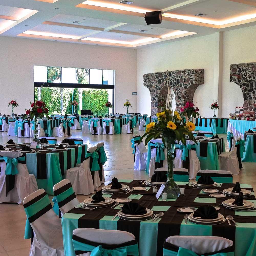 Salón Jardín en San Pedro Cholula - Terraza Los Cerezos de Grupo Santa Rosa