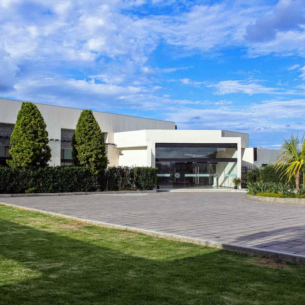 Salón de Eventos en Cholula - Salón Los Cerezos de Grupo Santa Rosa