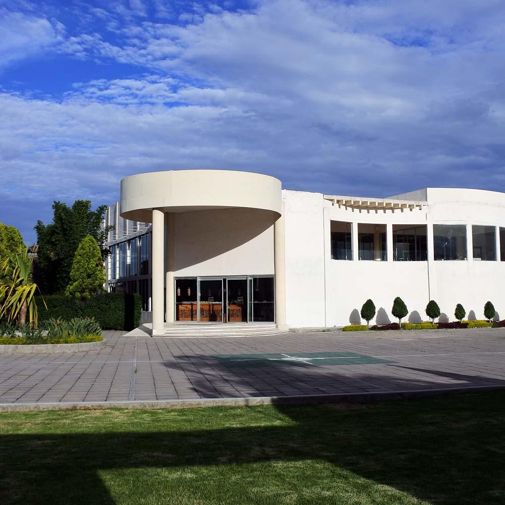 Salón de Eventos en Cholula - Salón Zerezotla de Grupo Santa Rosa - Fachada