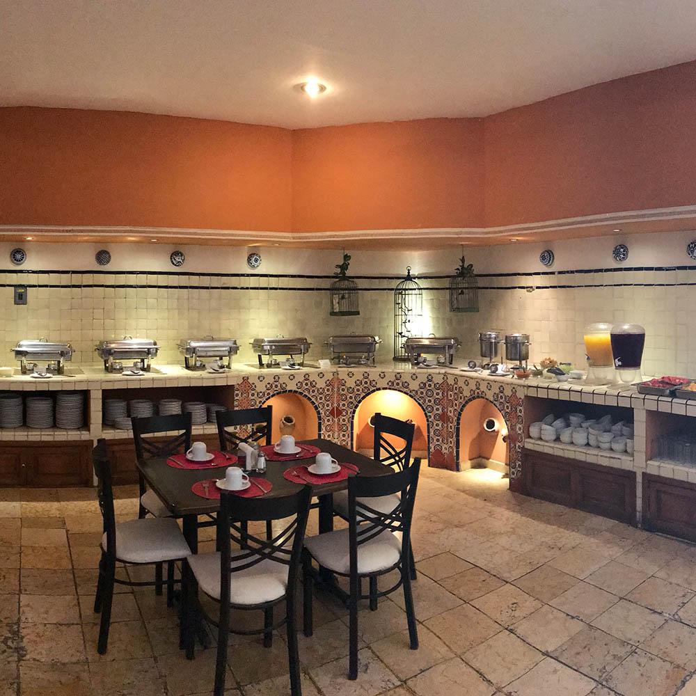 Barra Buffet - Restaurante Santa Rosa en San Pedro Cholula