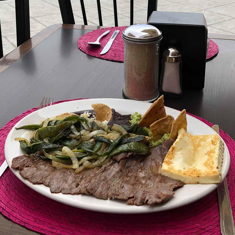 Cecina - Restaurante Santa Rosa en San Pedro Cholula