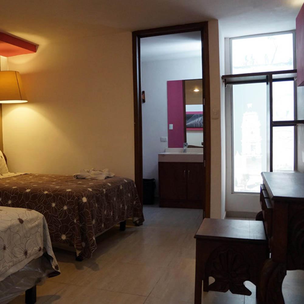 hotel santa rosa en el centro de san pedro cholula puebla. Black Bedroom Furniture Sets. Home Design Ideas