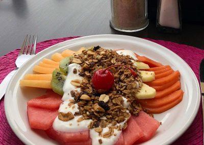 Ligerito con Yogurt y Granola - Restaurante Santa Rosa en San Pedro Cholula
