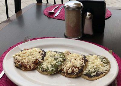 Picaditas - Restaurante Santa Rosa en San Pedro Cholula