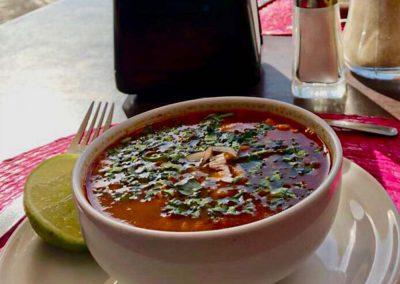 Platillo Buffet Mole de Panza - Restaurante Santa Rosa en San Pedro Cholula