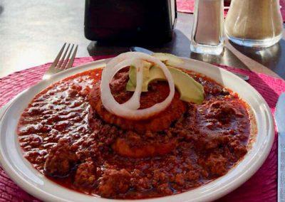 Platillo Buffet Chancla - Restaurante Santa Rosa en San Pedro Cholula