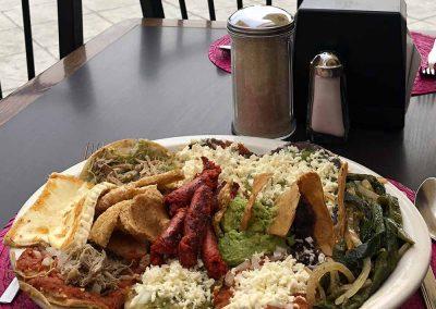 Plato Mexicano - Restaurante Santa Rosa en San Pedro Cholula