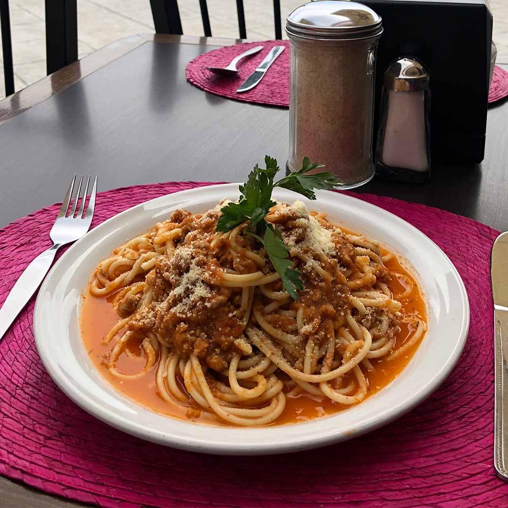 Spaguethi a la Italiana - Restaurante Santa Rosa en San Pedro Cholula
