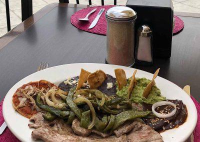 Tampiqueña - Restaurante Santa Rosa en San Pedro Cholula
