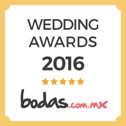 Ganador Wedding Awards 2016 - Complejo Zerezotla de Grupo Santa Rosa