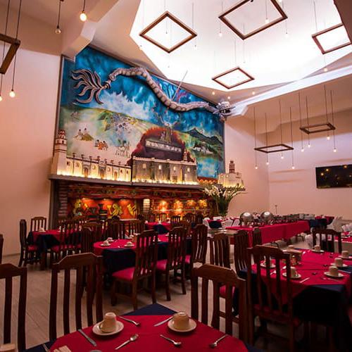 Buffet de Hotel Santa Rosa en Cholula - Grupo Santa Rosa