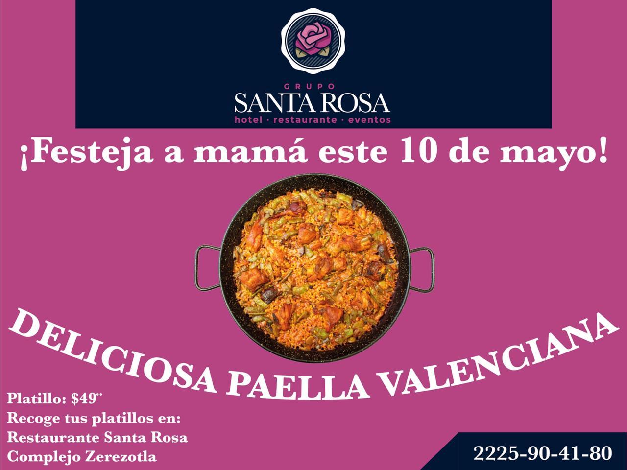 Deliciosa Paella Valencia este Día de las Madres
