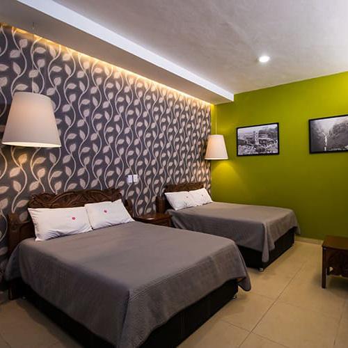 Habitaciones Dobles en Hotel de San Pedro Cholula - Grupo Santa Rosa