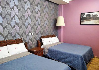 Hotel Temático Santa Rosa en San Pedro Cholula - Habitación Tabasco