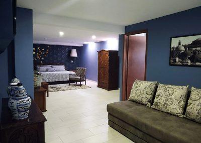 Hotel Temático Santa Rosa en San Pedro Cholula - Suite Puebla