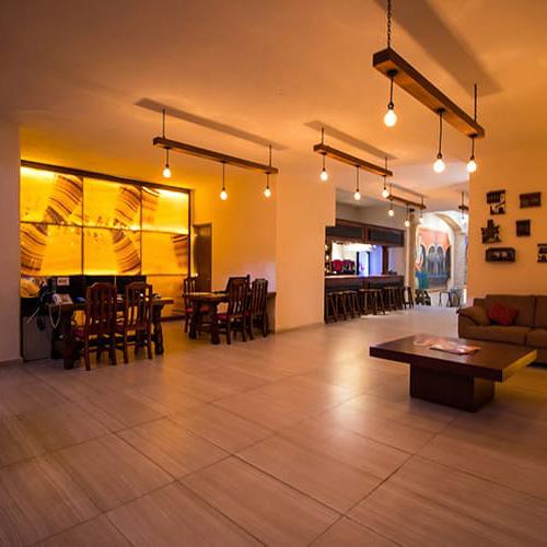 Recepción de Hotel Santa Rosa en Cholula - Grupo Santa Rosa