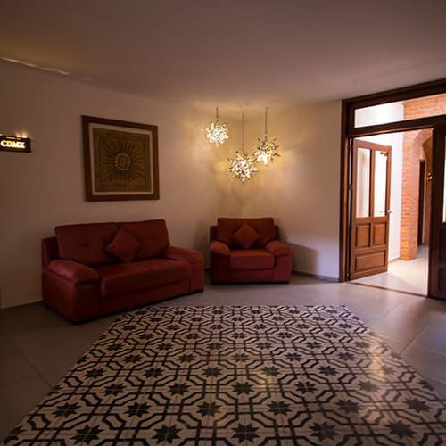 Sala de Descanso en Hotel Santa Rosa - Grupo Santa Rosa